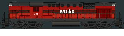 WP&P RSD-15 #346