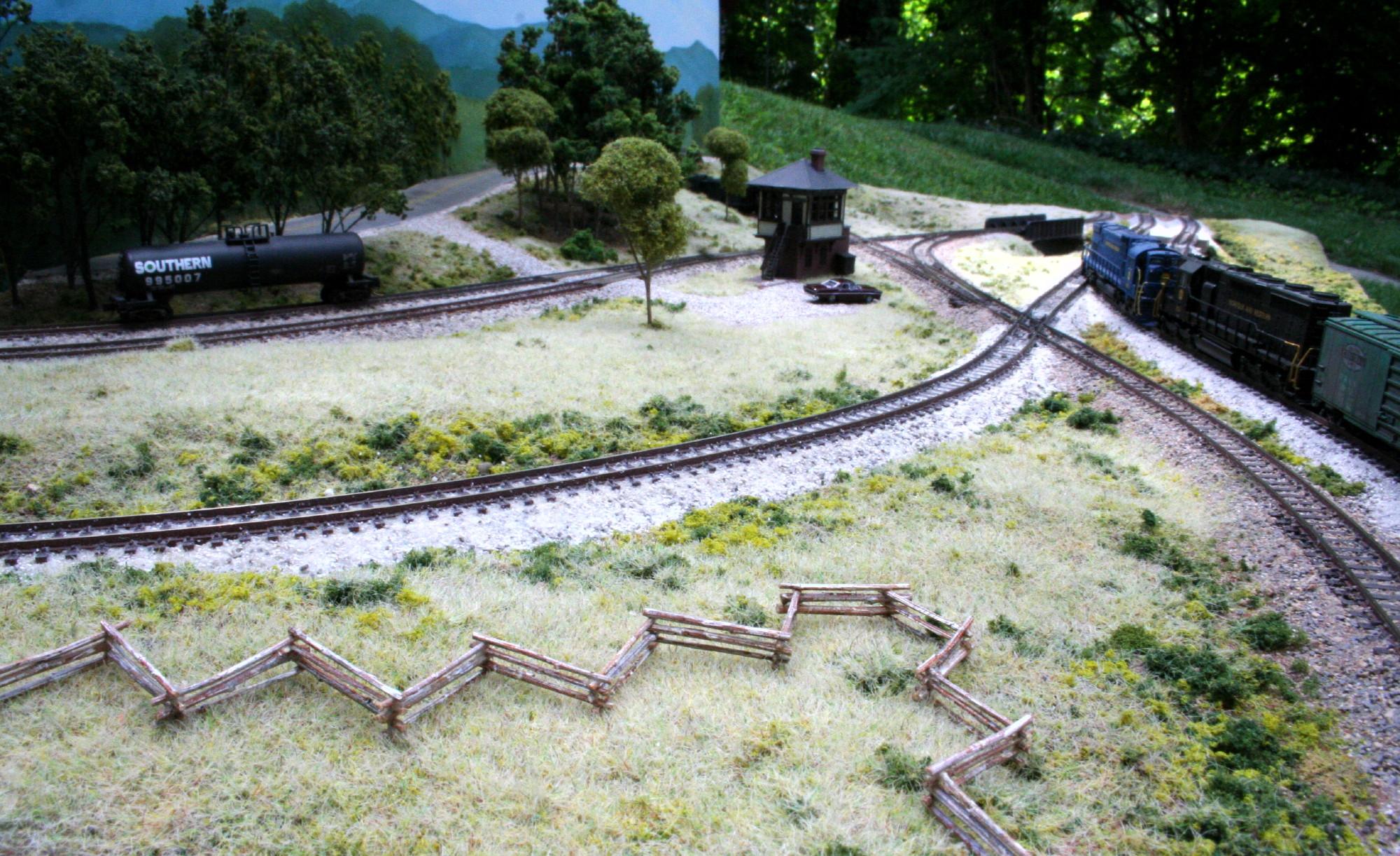 Boyce Junction N-Trak - setouts