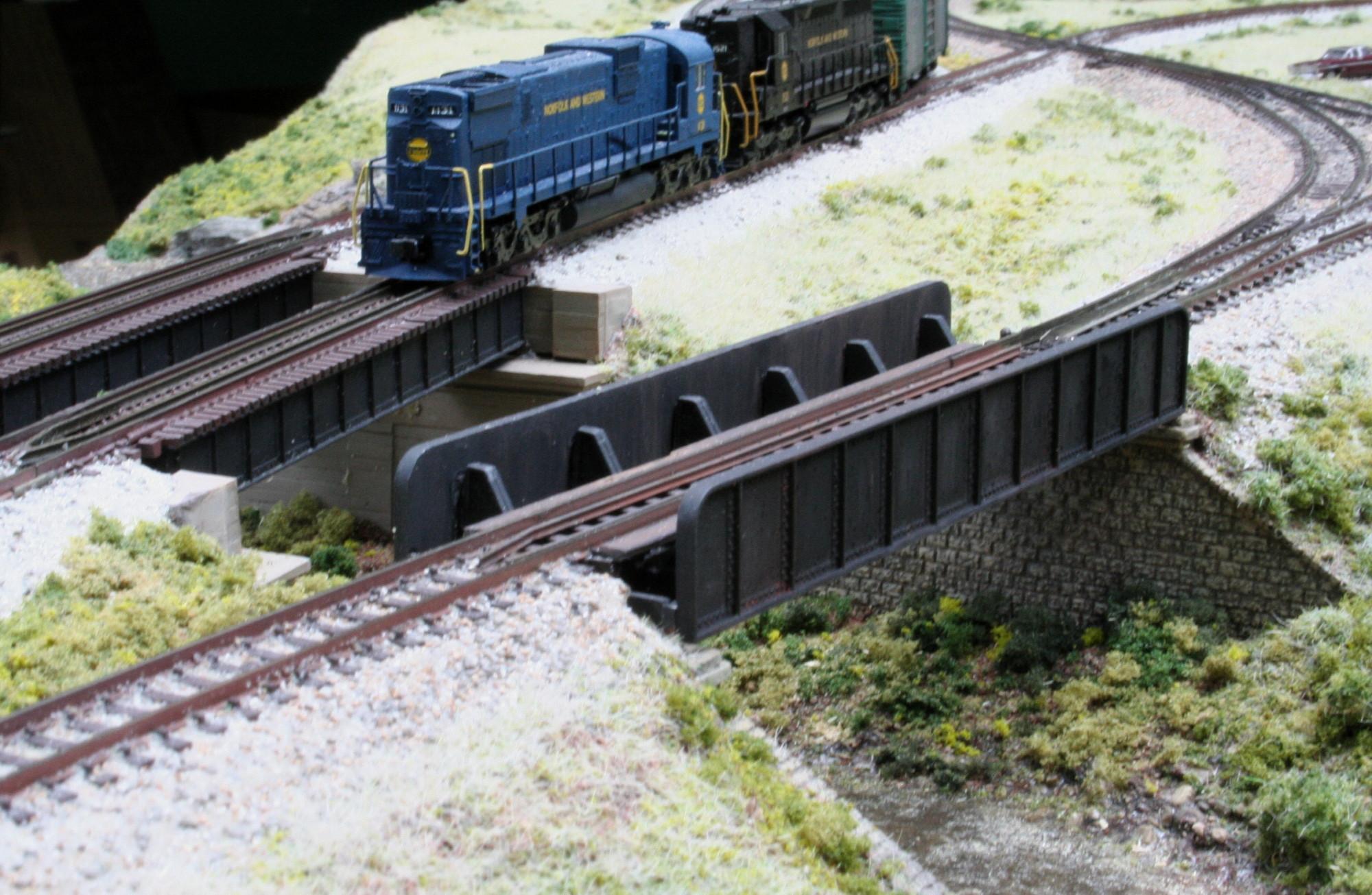 Boyce Junction N-Trak - bridges