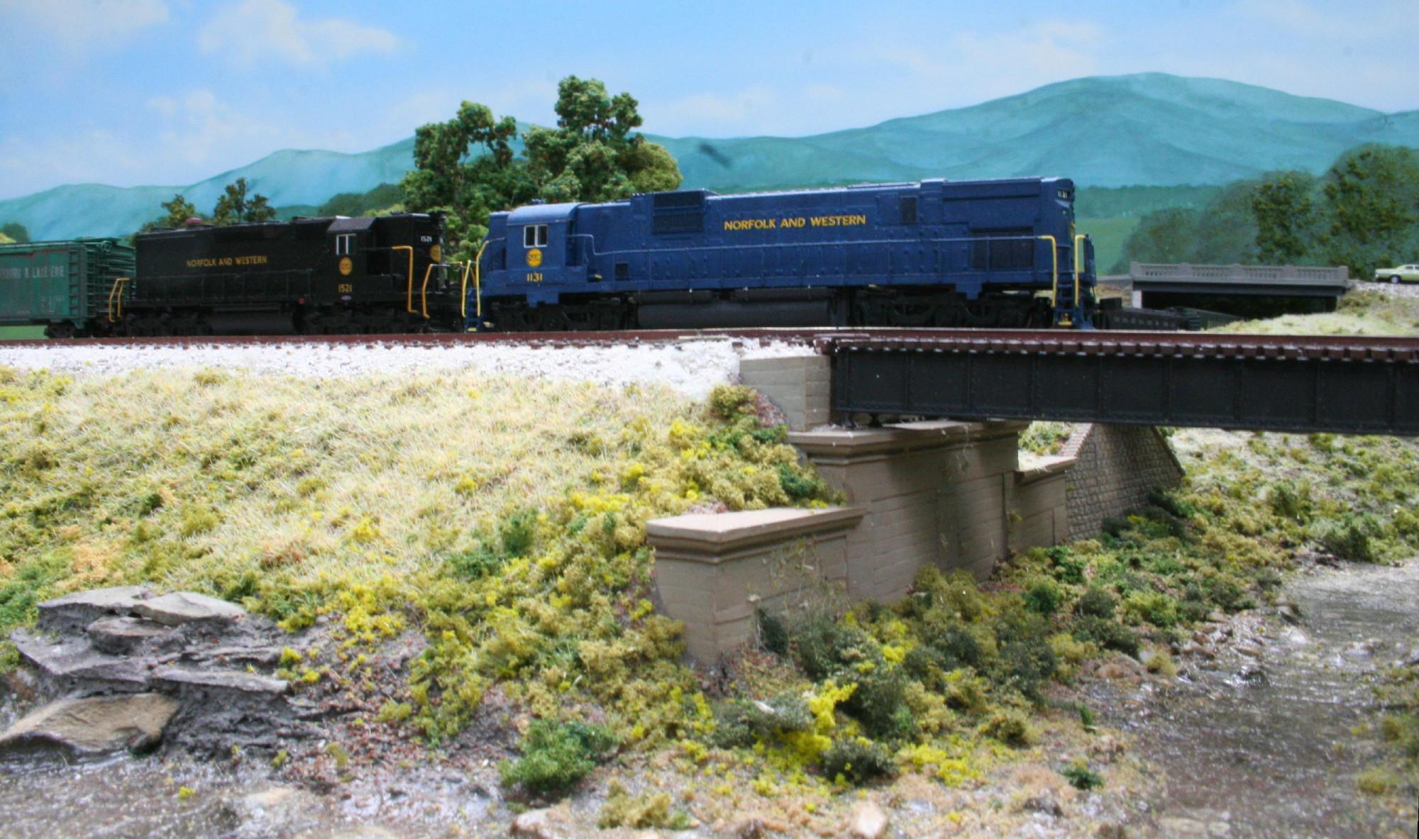 Boyce Junction N-Trak - bridge