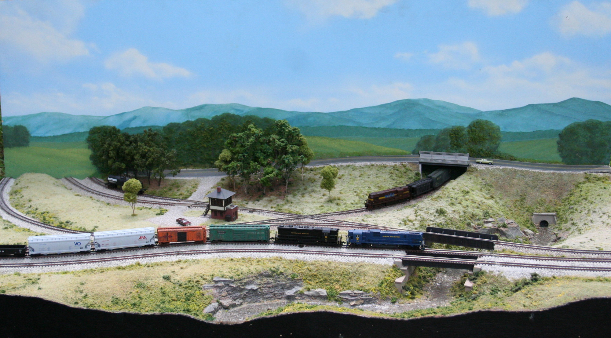 Boyce Junction N-Trak - front