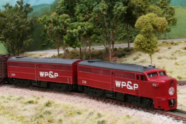 WP&P scheme F2 cab unit