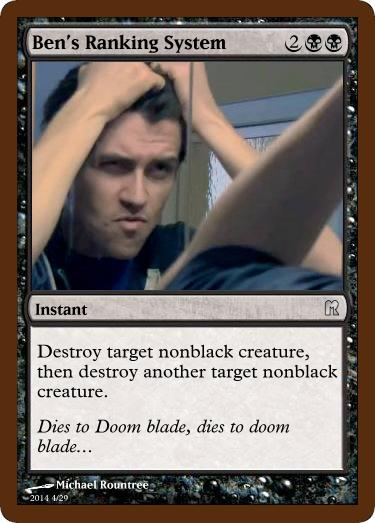 It's just double doom blade.