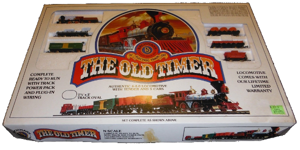Bachmann N-scale Old Timer train set