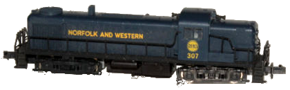 Atlas RS3 Norfolk & Western #307