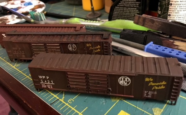 Boxcar to be weathered