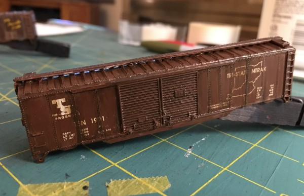 TSNT boxcar with oils