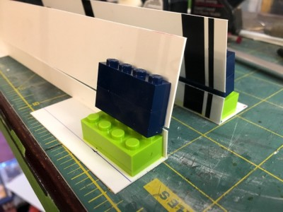 Another Lego footing pad