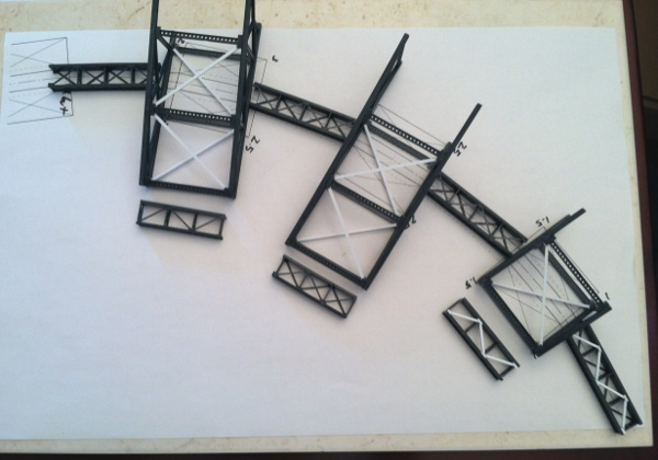 Design of curved bridge